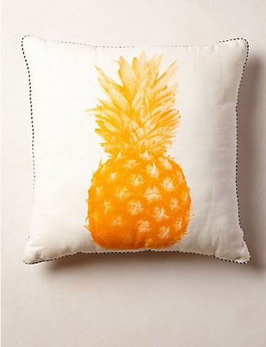 Defend the Trend: Is Pineapple Decor Tropi-Cool? (http://blog.hgtv.com/design/2014/05/09/pineapple-decor-trend/?soc=pinterest)Decor, Pineapple Pillows, Ideas, Pineapple Throw, Pineapple Prints, Pillows Anthropologie, House, Throw Pillows, Prints Pillows