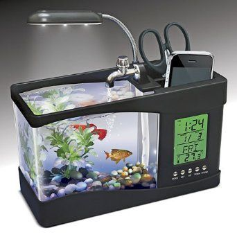 USB Desktop Aquarium http://101corporategiftideas.com/usb-desktop-aquarium/