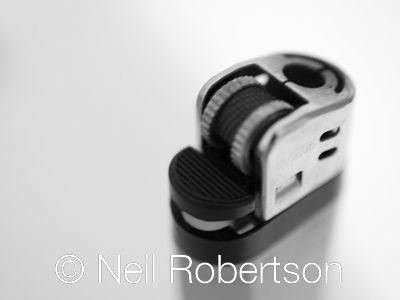 Lighter, photo by Neil Robertson