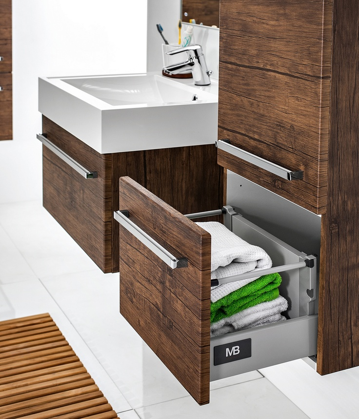 bathroom cabinets wood pattern Antado #łazienka #meble #umywalka #drewno
