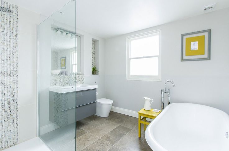 walk in shower, roll top bath - what we could do to convert our smallest bedroom