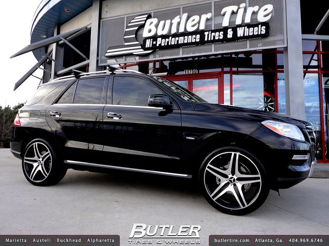 Mercedes Benz Bellevue >> Mercedes ML350 with 22in Eurosport MB10 Wheels | Mercedes benz ml350, Mercedes benz and Wheels