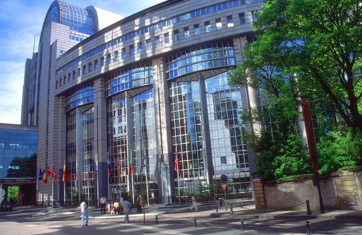 Brussels - European Parliament building (Belgium)