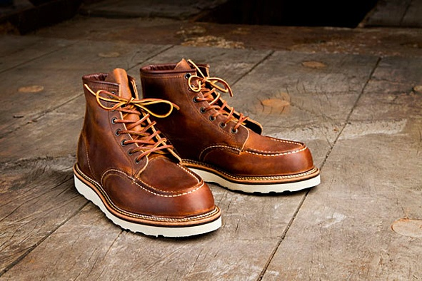 36 best images about red wing moc toe boots on pinterest ryan gosling bike shoes and copper. Black Bedroom Furniture Sets. Home Design Ideas