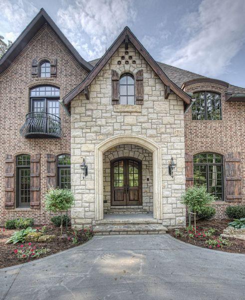 Traditional Home Brick Exteriors