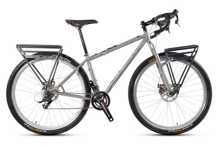 #doldmanmountain Pioneer en bici rigida de cicloturismo www.oldmanmountain.com.es