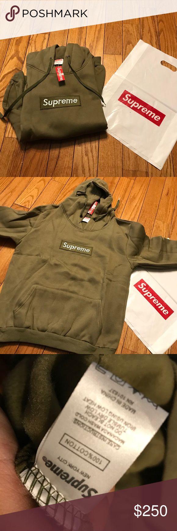 SUPREME BOX LOGO HOODIE new with tags supreme box logo hoodie SEE LAST PIC SIZING Supreme Sweaters