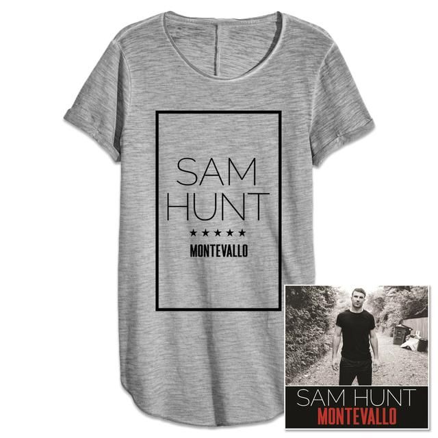 Sam Hunt Montevallo CD + T-Shirt Bundle $39.98