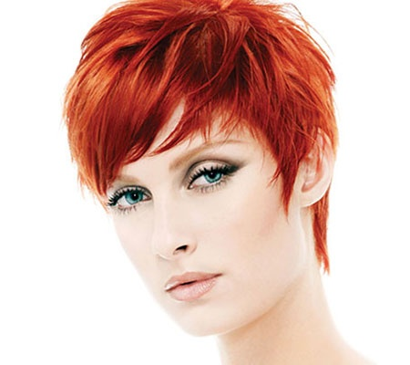 short red hair awesomeness!