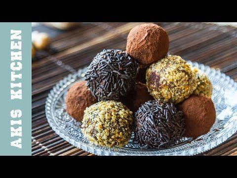 Chocolate Truffles   Akis Petretzikis