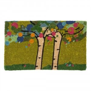 Printed coir doormat with latex backing. Designed by Karolina Palmér for Dixie