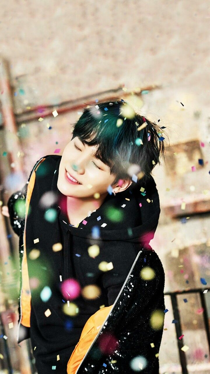 New BTS Concept Photos for WINGS PT2 | SUGA He looks so beautiful with the midnight blue hair TT