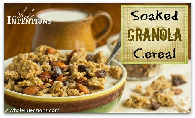 Box cereals proclaim they're good for kids because they're 'fortified', but this homemade soaked granola cereal is much healthier - and cheaper too!