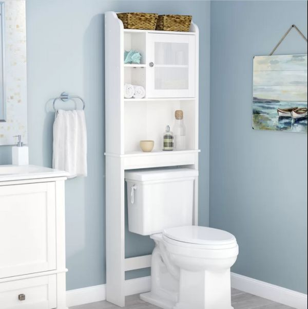 Over The Toilet Storage Bed Bath And Beyond In 2020 Toilet Storage Over The Toilet Cabinet Over Toilet