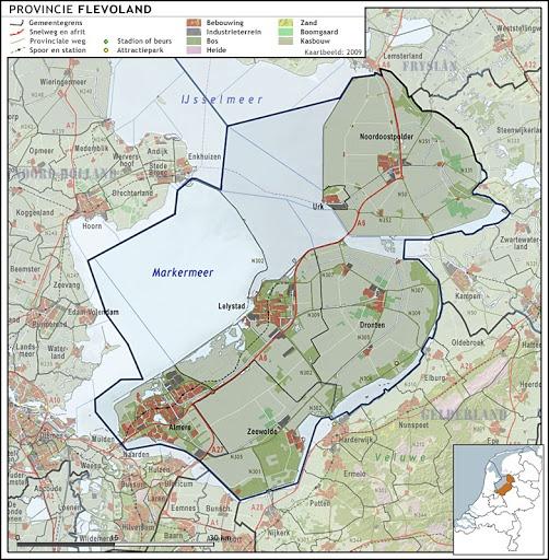 Topografie - Flevoland