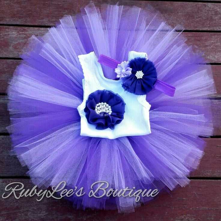 #Lavender #Purple  #PhotoProp #BabyGirl #Outfit  #CakeSmash #Tutu #Headband #Matching #Set  #Birthday Rubylee's Boutique Online https://www.facebook.com/Rubyleesboutiqueonline