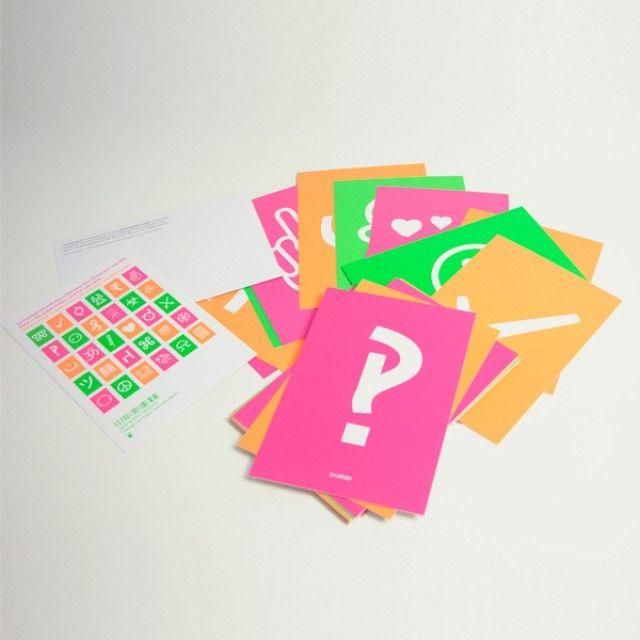 Verlag Hermann Schmidt decodeunicode Postkartenset | selekkt.com