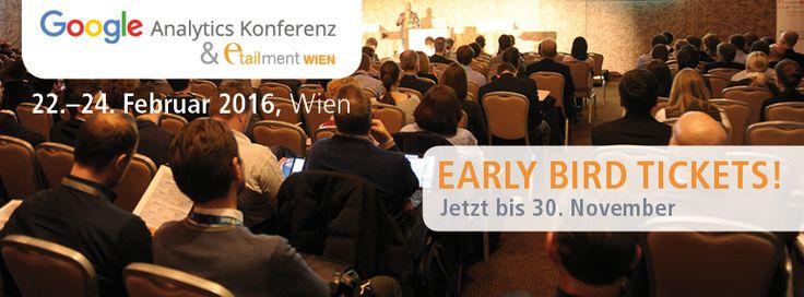 Fünfte Google Analytics Konferenz in Wien - Save the date! - http://blog.webalytics.de/2015/10/fuenfte-google-analytics-konferenz-in-wien-save-the-date/?utm_source=PN&utm_medium=Tempel%2C+Holger&utm_campaign=SNAP%2Bfrom%2Bwebalytics+blog