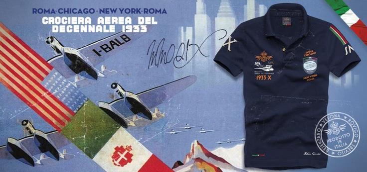 "MM001X  Dedicated to the 1933 ""Decennale of Arma Azzurra"" Atlantic Flight"