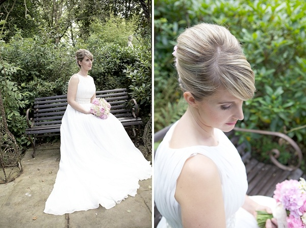 1960s wedding hair, image by Elanza Photography