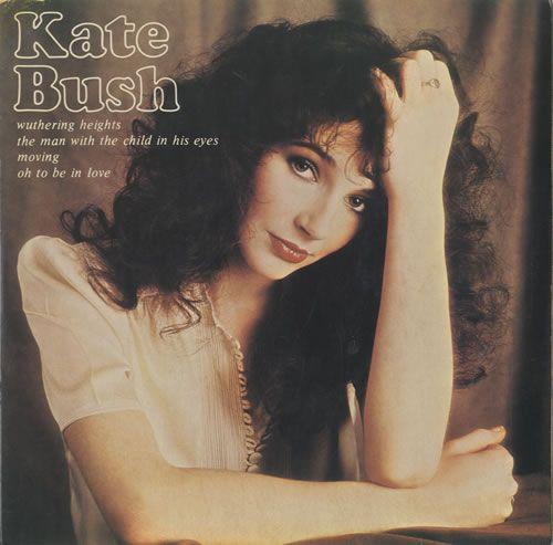 Kate Bush cover art, 1978.