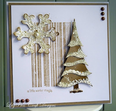 Image result for card using dee's distinctively stacker tree die