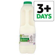 Tesco Organic British Semi Skimmed Milk 1.136L/2 Pints - Groceries - Tesco Groceries
