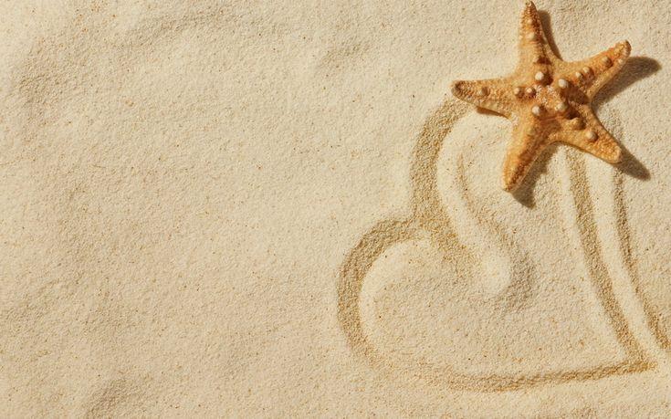 любовь, настроения, love, природа, звезда, сердечко, пляж, сердце, песок