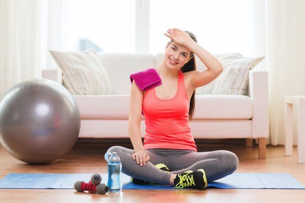 Stay in shape by doing these 10 simple exercises in your bedroom, hotel room, the airport, or wherever the summer takes you.