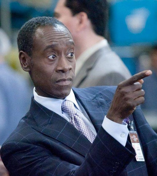"2012 Primetime Emmy nominees:  Outstanding lead actor in a comedy  Jim Parsons, ""Big Bang Theory""  Larry David, ""Curb Your Enthusiasm""  Don Cheadle, ""House of Lies"" (pictured)  Louis C.K. ""Louie""  Alec Baldwin, ""30 Rock""  Jon Cryer, ""Two and a Half Men"""