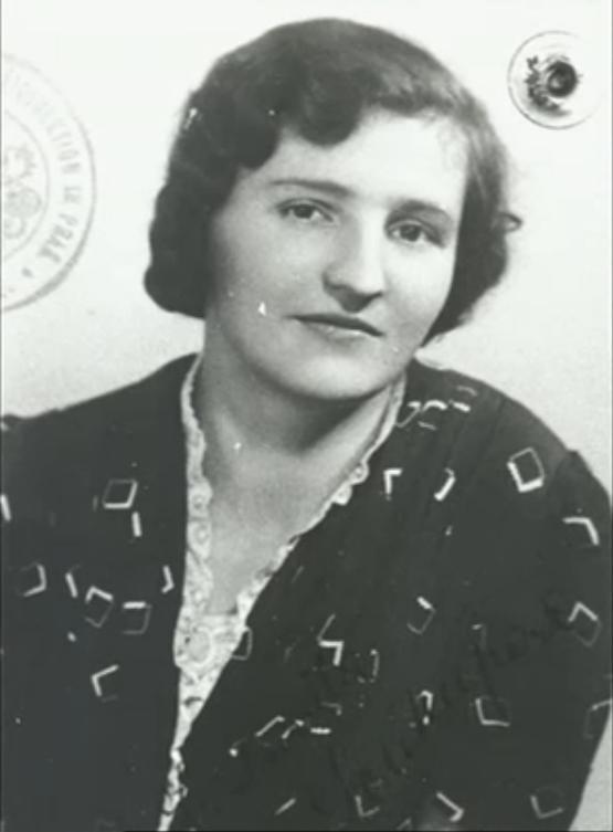 Ludmila Soukupová-Kovárníková. Photo from http://www.ceskatelevize.cz/porady/10350893065-heydrich-konecne-reseni