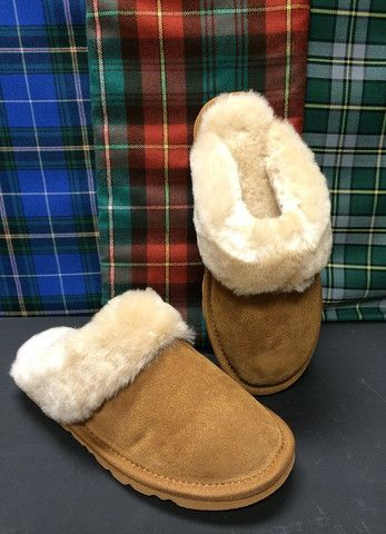 Ladies Sheepskin Slippers, $99.95