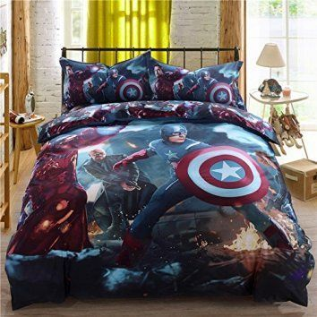 Super Heroes Bedding Set Twin Queen King Size Comforter Sheet Set Here are some unique bedding sets that are truly one of a kind., I love that this bedding comes in queen, king and cali-king. Moreover, these bedding sets are unique and abstract because they are trending like crazy. These unique bedding sets will give you great inspiration and bedroom decorating ideas whether it be a kid's bedroom, a guest room or most importantly your master bedroom.