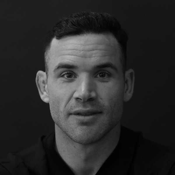 Ryan Crotty Photos Photos - Image has been shot in black and white. Color version not available.) Ryan Crotty during the New Zealand All Blacks Headshots Session on June 11, 2017 in Auckland, New Zealand. - New Zealand All Blacks Headshots Session