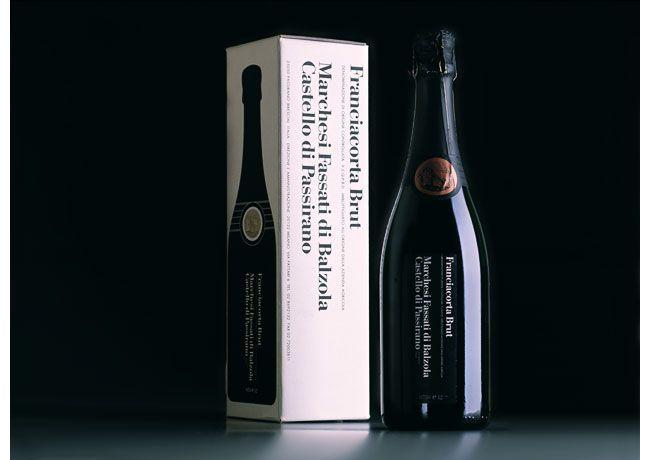 Vignelli Associates, 1994 || Un classico del graphic design ad opera del maestro Massimo Vignelli per l'azienda vinicola Fassati (Brescia)