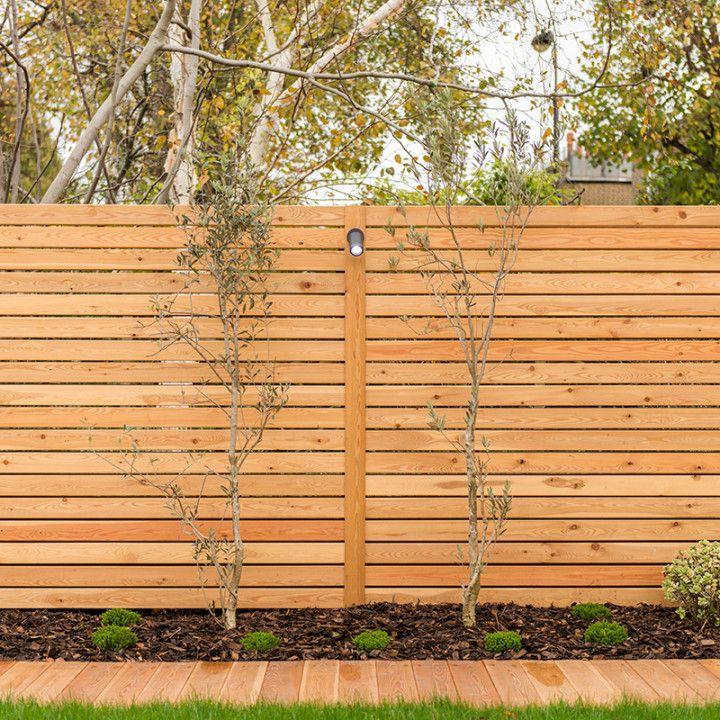 Забор из лиственницы фото