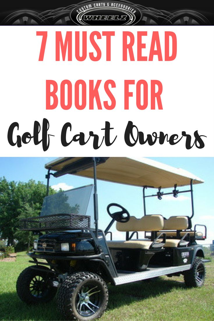 Do you love golf carts if so these are the books for you