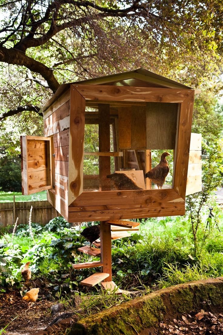 The Coopsicle is one of the 14 original chicken coops in the recently released book Reinventing the Chicken Coop.