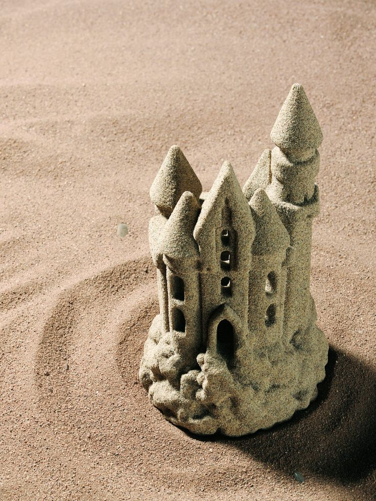 How to Make a Hardened Sand Castle Out of Baking Soda. Sand castles are fun to make at the beach or in a sand box, but the sculptures are short-lived. Waves and rain will wash the castles away. To make permanent sand castles, use baking soda to make clay, mold the sculpture, dry, and paint the finished sand castle.