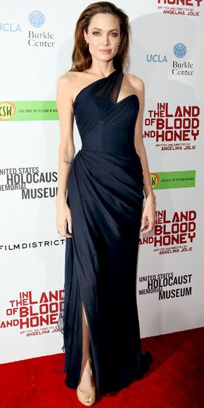 Angelina Jolie's Best Red Carpet Looks Ever - In Romona Keveza, 2011 from InStyle.com