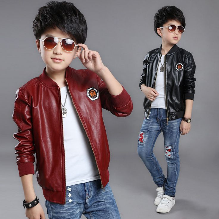 >> Click to Buy << Boys PU Jackets coat children's clothing Kids Clothes For big virgin Boys Autumn leather clothes 2 3 4 5 6 7 8 9 10 11 12 years #Affiliate