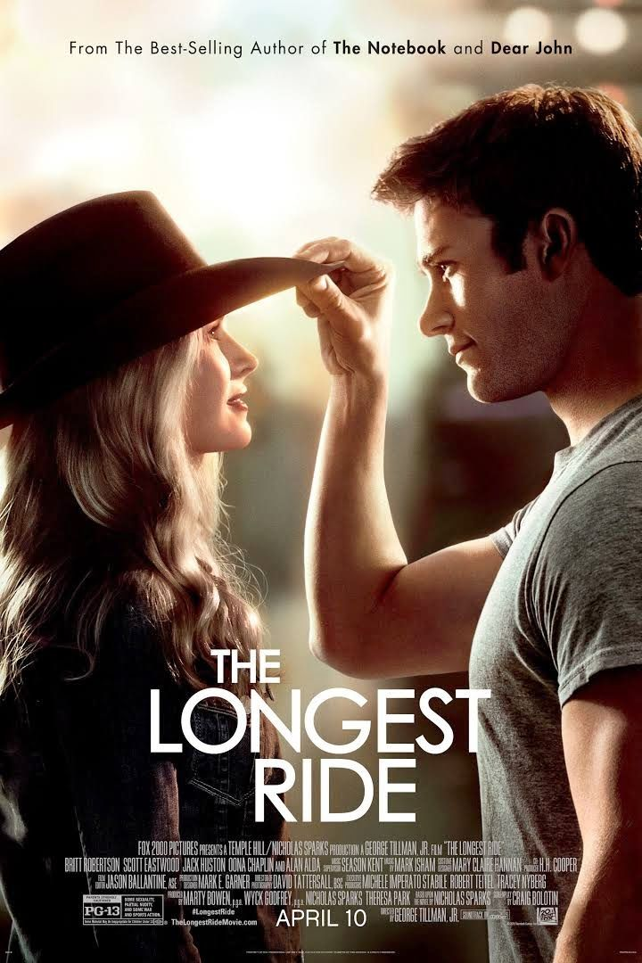 On-the-Run Movies: THE LONGEST RIDE (2015)
