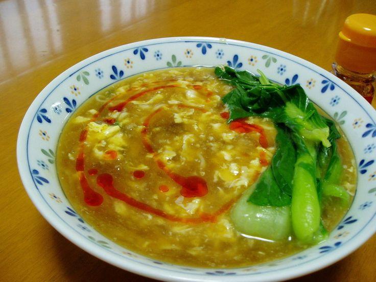 簡単★インスタントラーメンで酸辣湯風 by misattyo [クックパッド] 簡単おいしいみんなのレシピが233万品