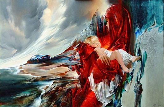 Художник Иван Славинский. Картина двадцать первая. Холст масло