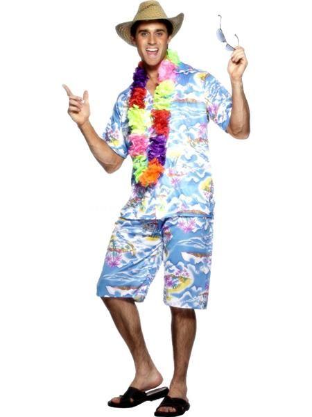 Гавайская вечеринка костюм самодельный