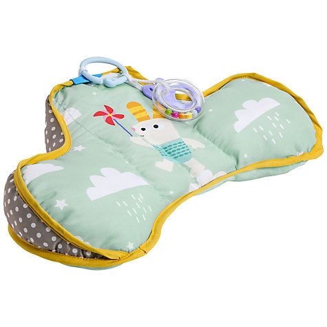 Buy Taf Toys Baby Developmental Tummy Time Pillow Online at johnlewis.com