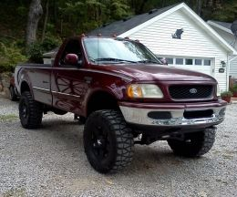 1998 Ford F-Series LD 4x4 by Jake Mersing http://www.truckbuilds.net/1998-ford-f-series-ld-4x4-build-by-jake-mersing
