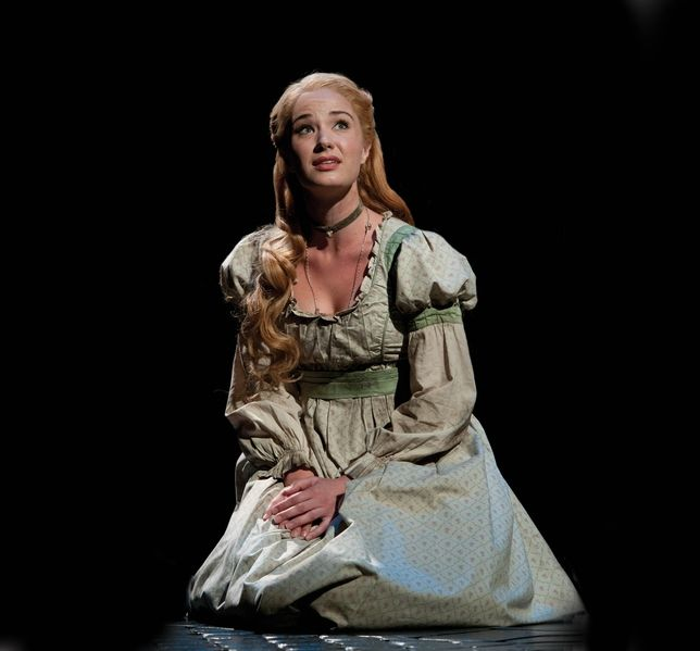 "Les Mis | Sierra Boggess began her professional acting career as the understudy for Cosette on the ""Les Misérables"" national tour, and now she's on round two with the show, this time as Fantine at the Queen's Theatre in the West End, London."