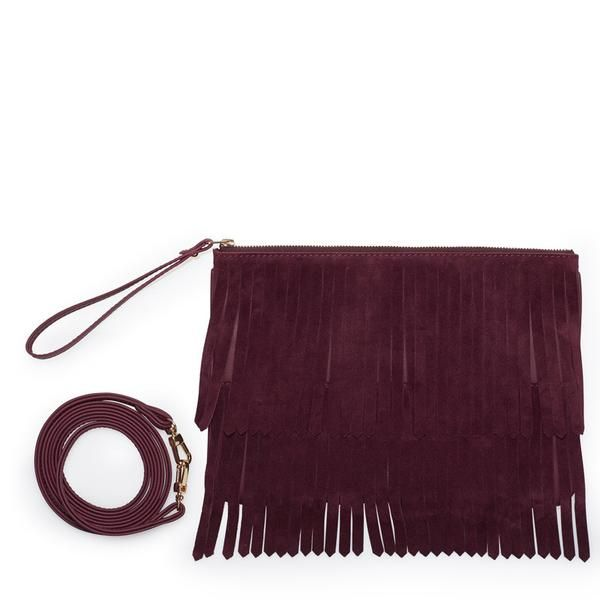 Did you say festivals? 'Hope' bag from Leowulff is the perfect bag! #leowulff #bag #fringes #bordeaux