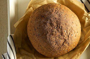 Rond waldkornbrood